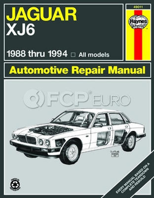Jaguar Haynes Repair Manual (XJ6 Vanden Plas) - Haynes HAY-237