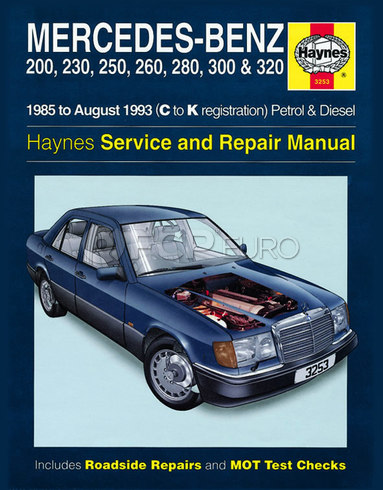 Mercedes Repair Manual (W124 Series) - Haynes HAY-3253