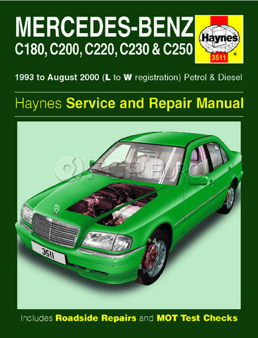 Mercedes Repair Manual (C220 C230) - Haynes HAY-3511