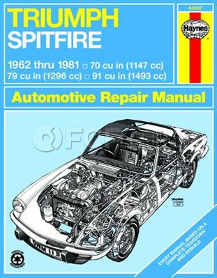 Triumph Haynes Repair Manual (Spitfire) - Haynes HAY-94007