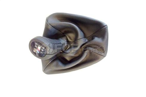BMW Leather Shift Knob (E90 E92 E93) - Genuine BMW 25118037308