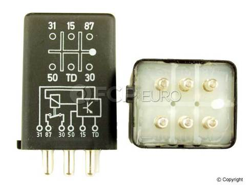 Mercedes Fuel Pump Relay (6 Pole) - KAE 0015450605