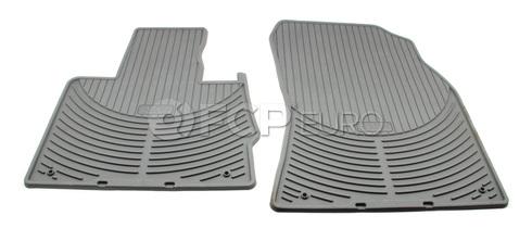 BMW Rubber Floor Mat Set Front Grey (X5) - Genuine BMW 82550151487