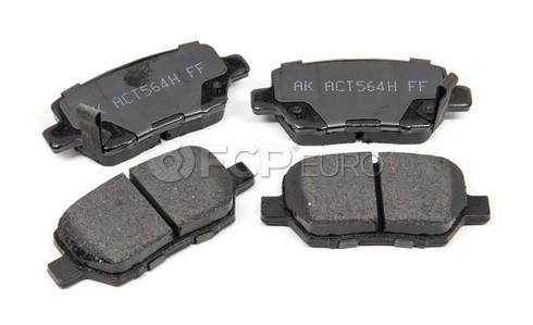 Brake Pads Set Rear - Akebono ACT1090