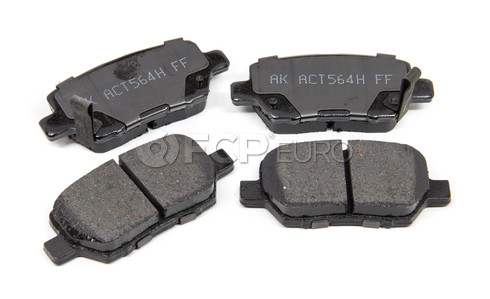 Brake Pad Set - Akebono ACT1090