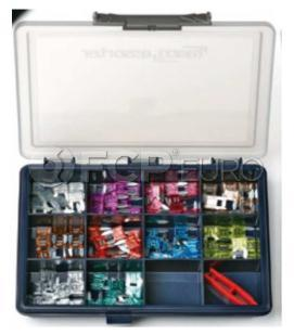 Miniature Blade Style Fuse Kit (Assorted) - Flosser 213010