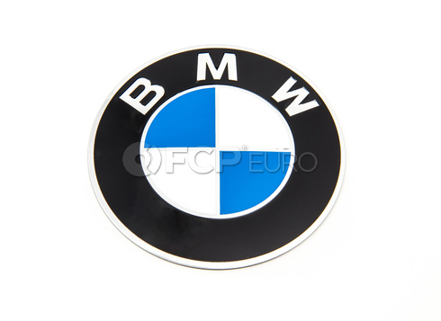 BMW 70mm Adhered Wheel Cap Emblem - Genuine BMW 36136758569