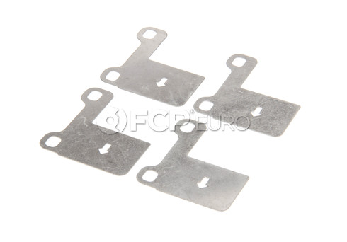 Volvo Brake Pad Set Shim Set Stainless Steel - Genuine Volvo 272272OE